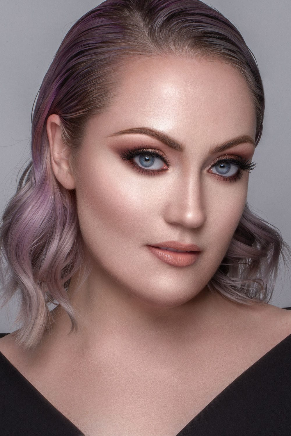 Soft Glam Look created for Mario's MasterCourse